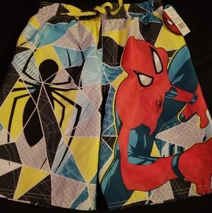 Spiderman Swim Trunks (New With Tags)